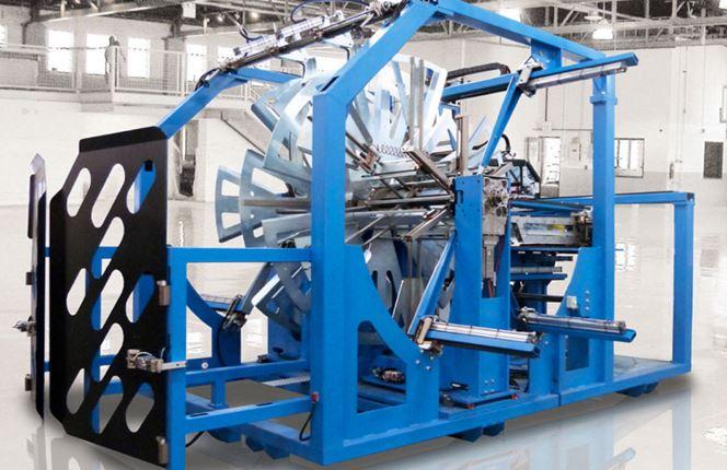СЕРИЯ EC - Данная серия намоточных устройств разработана для намотки труб в условиях, не требующих частой смены сортамента продукции, и предусматривает реализацию рулонов средней длины